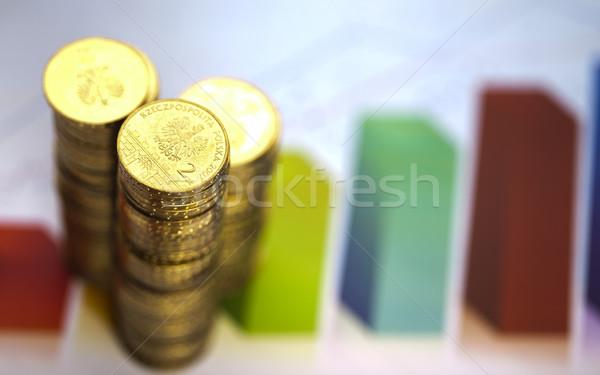 Coins background Stock photo © JanPietruszka