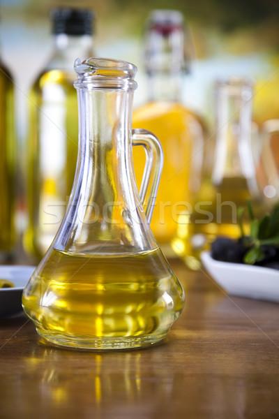 Vers olijven olijfolie boom zon vruchten Stockfoto © JanPietruszka