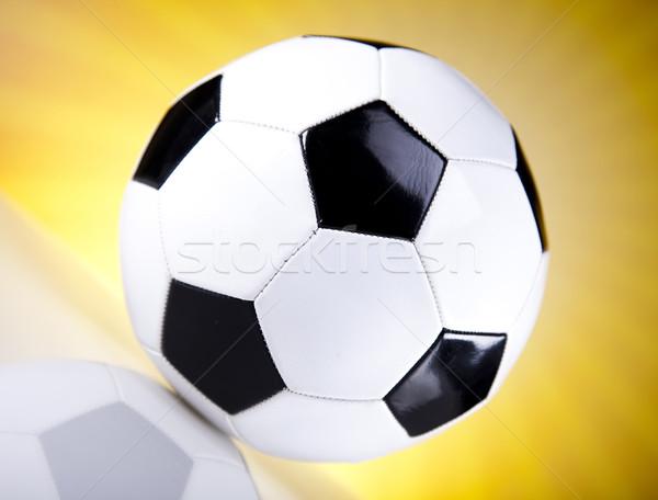 Voetbal zonneschijn voetbal achtergrond leuk bal Stockfoto © JanPietruszka