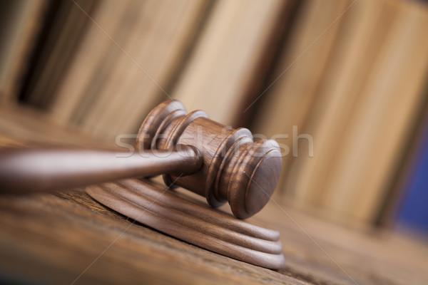 法 正義 法的 コード ハンマー 裁判所 ストックフォト © JanPietruszka