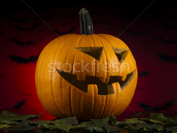Halloween Pumpkin, Scary Jack Stock photo © JanPietruszka