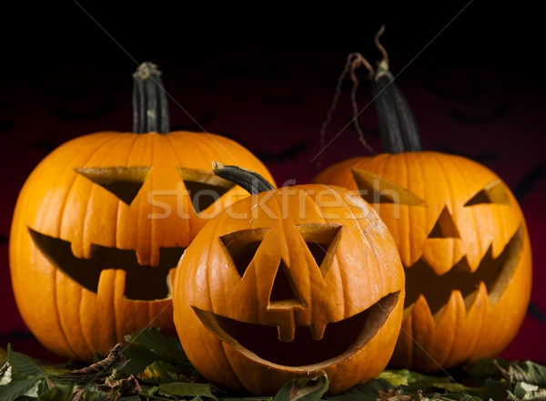 Halloween pumpkin Jack Stock photo © JanPietruszka
