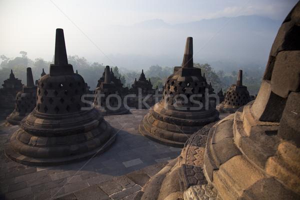 Tapınak Endonezya parlak renkli canlı seyahat Stok fotoğraf © JanPietruszka