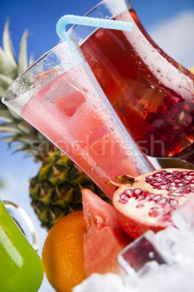 Exotic summer drinks Stock photo © JanPietruszka