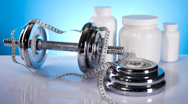 ボディービル スポーツ 医療 フィットネス ストックフォト © JanPietruszka