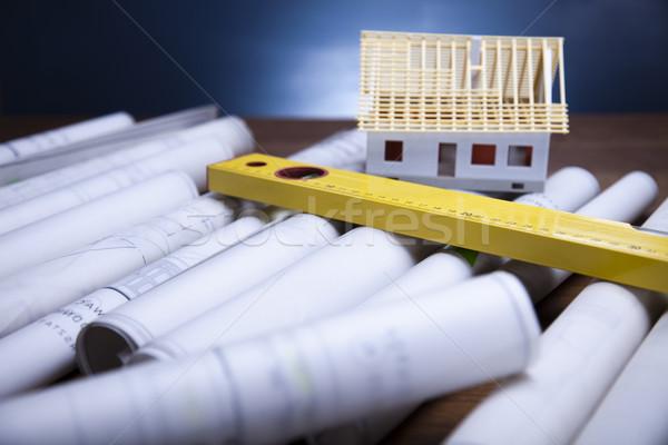 Architecture plans Stock photo © JanPietruszka