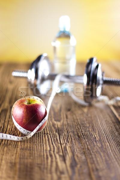 Sport régime alimentaire calorie alimentaire fitness Photo stock © JanPietruszka