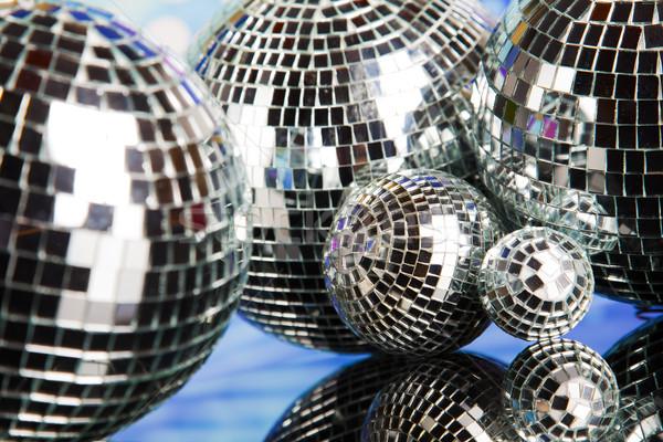 Disco dźwięku fale muzyki wiadomości Zdjęcia stock © JanPietruszka