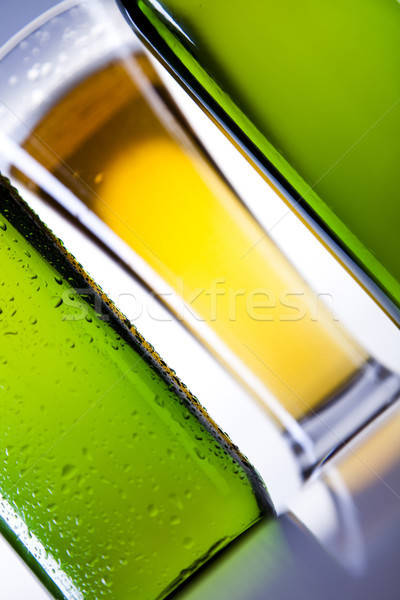 Wonderful Concept of beer, bright vibrant alcohol theme Stock photo © JanPietruszka