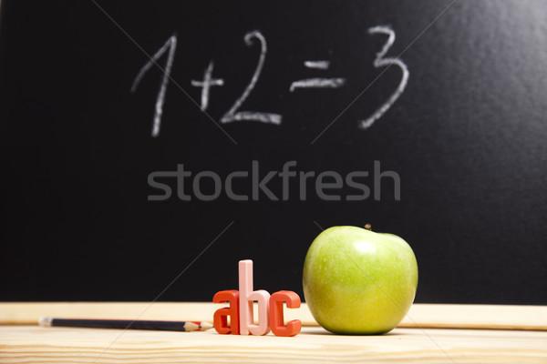 123 Concept, colorful bright of education Stock photo © JanPietruszka