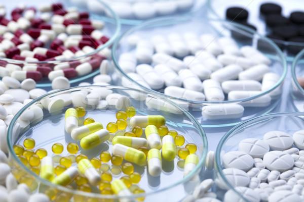 Pharmacology, colorful bright medicine concept Stock photo © JanPietruszka