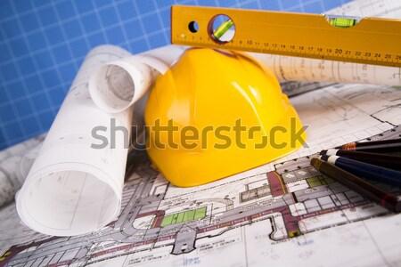 Constructing Plans Stock photo © JanPietruszka