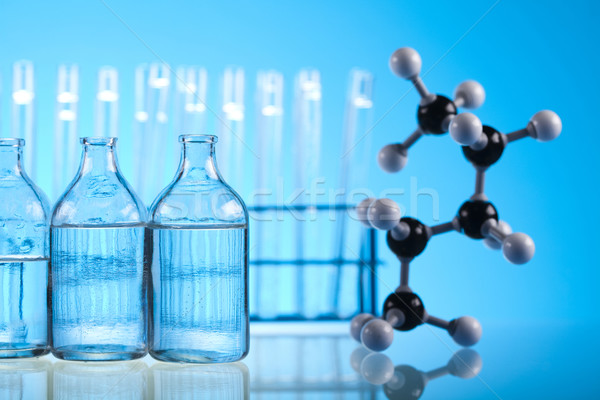 лаборатория изделия из стекла медицинской лаборатория химического инструментом Сток-фото © JanPietruszka
