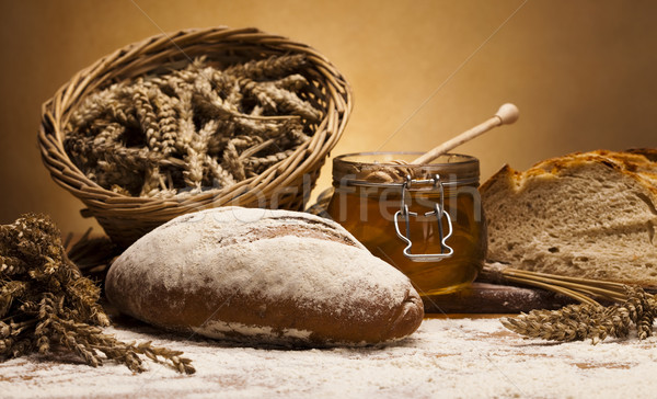 Variety of whole wheat bread  Stock photo © JanPietruszka