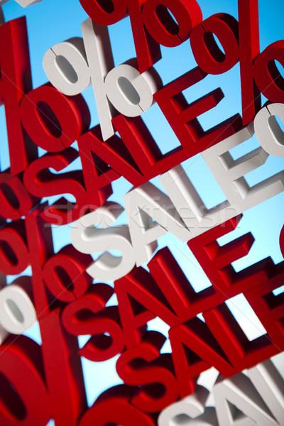 Sprzedaży tle zakupy czerwony finansów usługi Zdjęcia stock © JanPietruszka