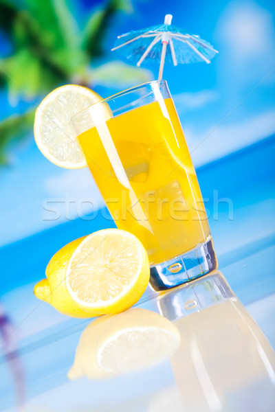 Stock photo: Cocktails, alcohol drink, natural colorful tone