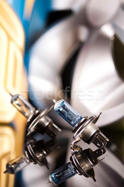 Ayarlamak araba canlı moto ışık Stok fotoğraf © JanPietruszka