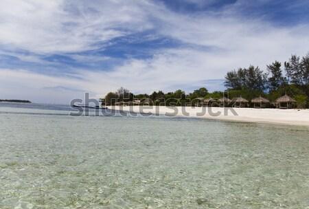 Stok fotoğraf: Deniz · hava · Endonezya · su · yaz · mavi