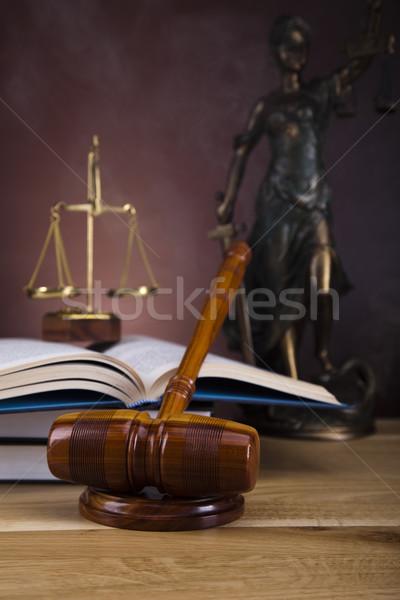 God of law  Stock photo © JanPietruszka