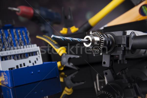 Bouw tools huis hand werk Stockfoto © JanPietruszka