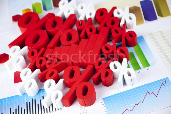 Sale, Percent sign, natural colorful tone Stock photo © JanPietruszka