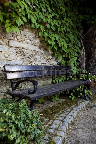 Colorful park scenery, summertime theme Stock photo © JanPietruszka