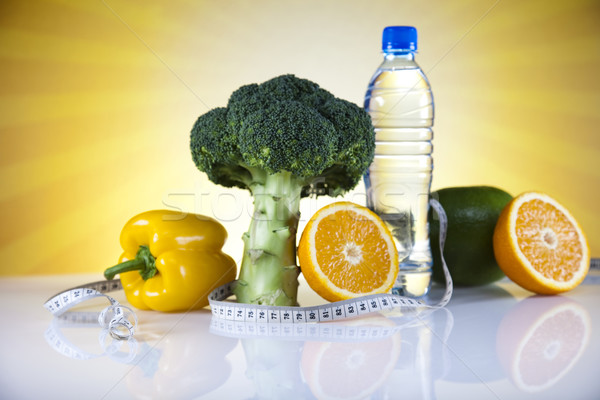 Fitness Food, diet, Vegetable and sunshine   Stock photo © JanPietruszka