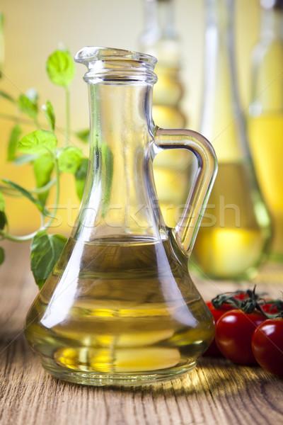 Olive Oil, Mediterranean rural theme Stock photo © JanPietruszka