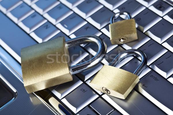 интернет безопасности современных сеть бизнеса Сток-фото © JanPietruszka