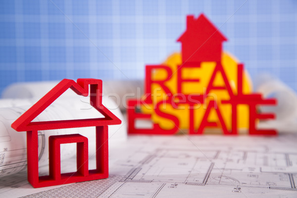 Commercial Real Estate and Architectural project Stock photo © JanPietruszka