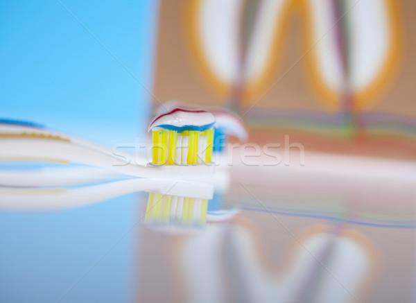 Dental health care objects  Stock photo © JanPietruszka