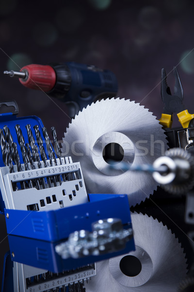 Construction tools, house renovation concept  Stock photo © JanPietruszka