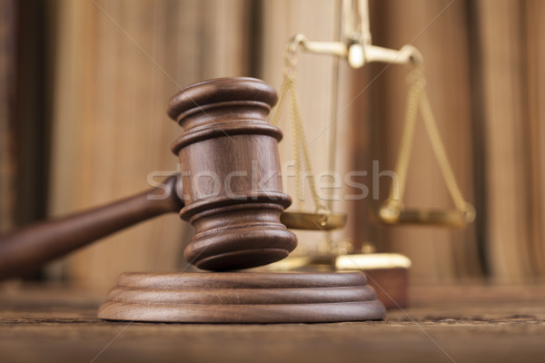 Law and justice concept, legal code Stock photo © JanPietruszka