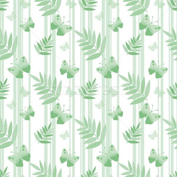 Sem costura naturalismo natureza papel borboleta beleza Foto stock © jara3000