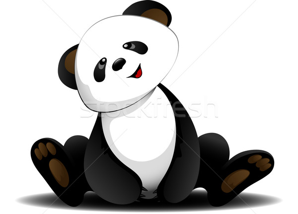 Sitting panda Stock photo © jara3000