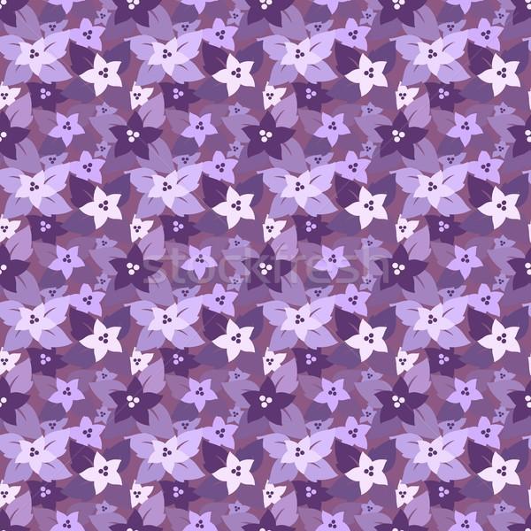Senza soluzione di continuità floreale pattern colori Foto d'archivio © jara3000