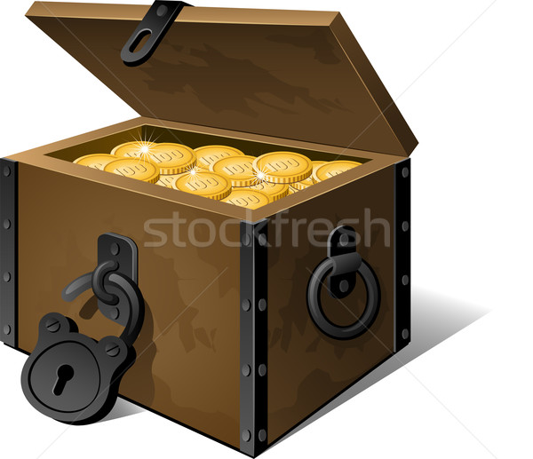 Treasure Chest Stock photo © jara3000