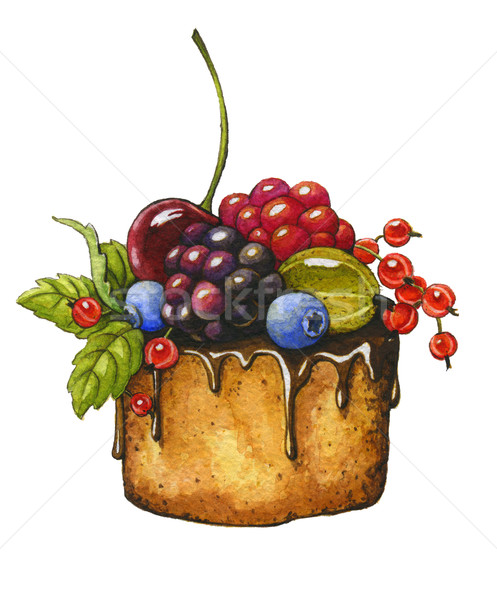 Berry cake Stock photo © jara3000