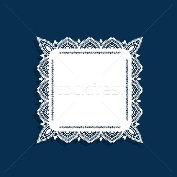 Lace doily Stock photo © jara3000