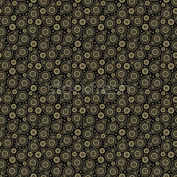Seamless background with paisley Stock photo © jara3000