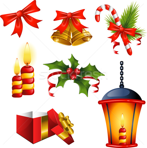 Christmas design elements Stock photo © jara3000