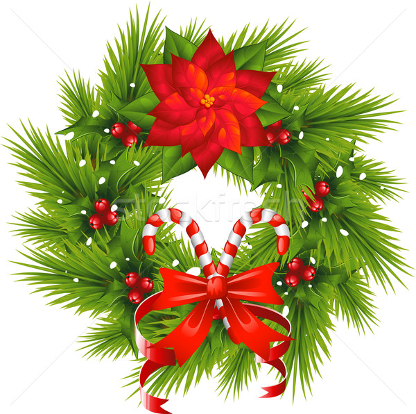 Christmas Wreath Stock photo © jara3000