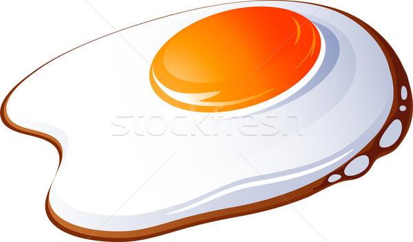 Fried egg Stock photo © jara3000
