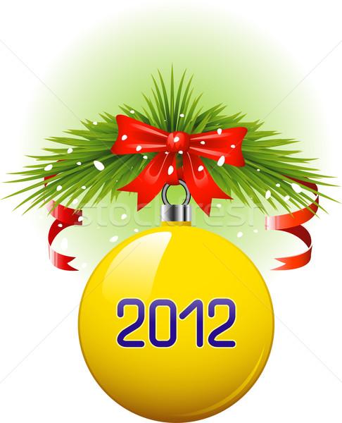 Christmas ball 2012 Stock photo © jara3000