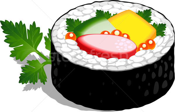 Sushi Roll Stock photo © jara3000
