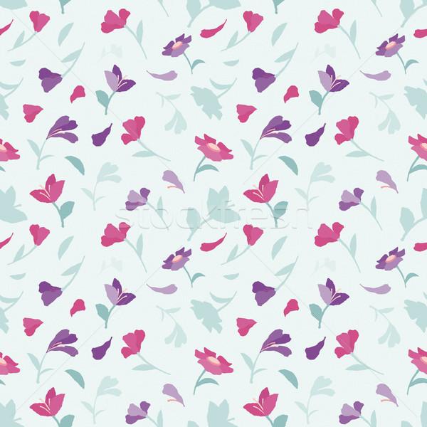 Senza soluzione di continuità estate pattern fiori fiore texture Foto d'archivio © jara3000