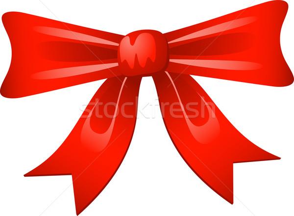 Rosso arco vettore bianco eps design Foto d'archivio © jara3000