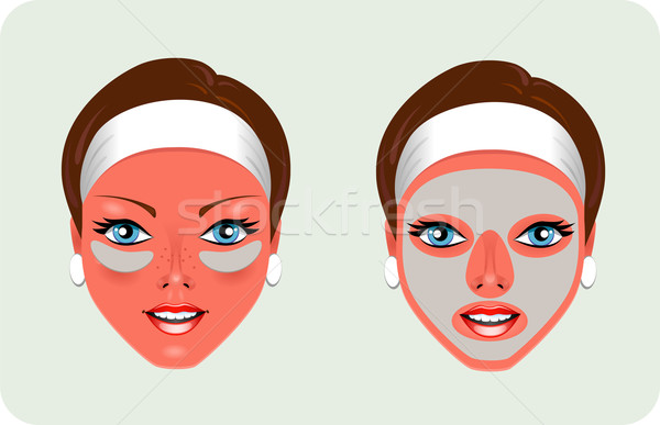Facial Rejuvenation (mask) Stock photo © jara3000