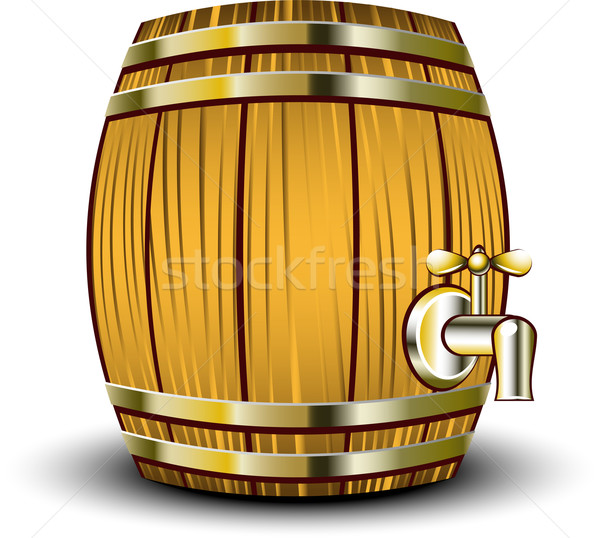 Wooden barrel Stock photo © jara3000