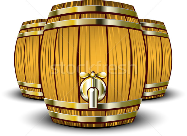 Wooden Barrels Stock photo © jara3000